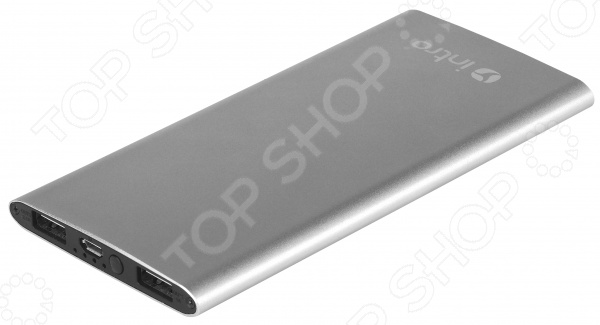 Аккумулятор внешний Intro PB06S внешний аккумулятор samsung eb pn930csrgru 10200mah серый