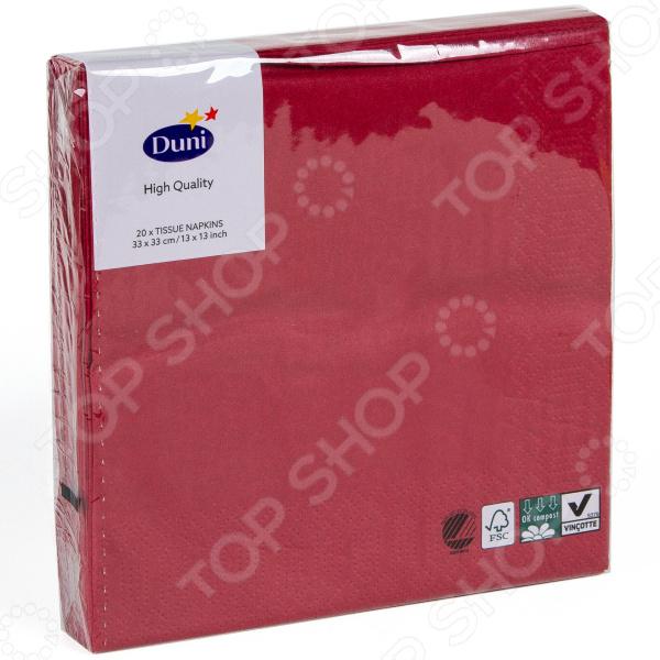 Салфетки бумажные Duni 104045