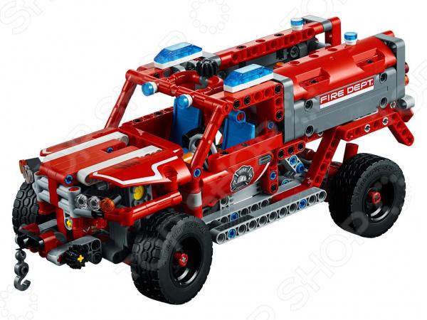 Конструктор игровой для ребенка LEGO Technic «Служба быстрого реагирования»