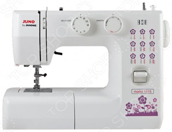 Швейная машина Janome JUNO 1515 janome juno 1515