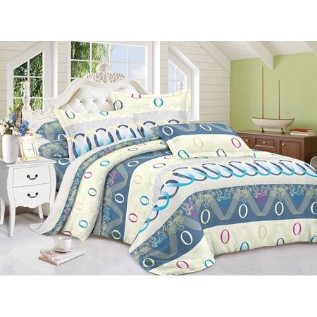 Комплект постельного белья «Зимний сон». Евро. Рисунок: конфетти