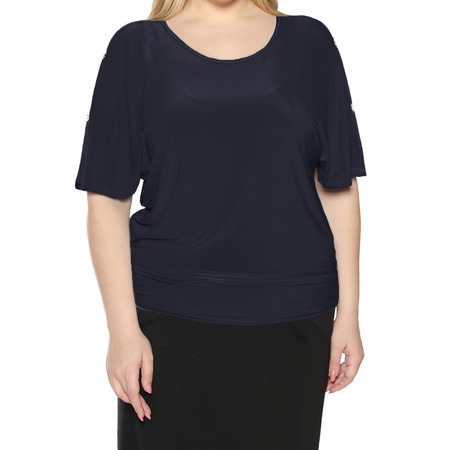 Купить Блуза Pretty Woman «Фруктовый заряд». Цвет: синий