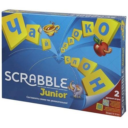 Купить Настольная игра Mattel Scrabble Junior. Скрэббл Джуниор