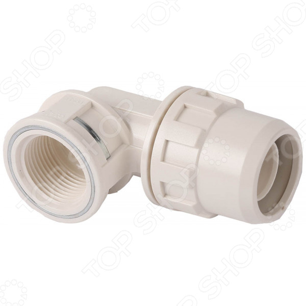 Муфта соединительная угловая Зубр «ШиреФит» 51466 муфта водосточной трубы соединительная пластиковая docke lux d100 мм пломбир