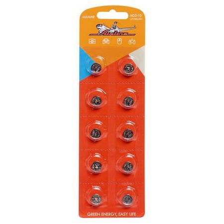 Набор батареек щелочных Airline AG3/L41
