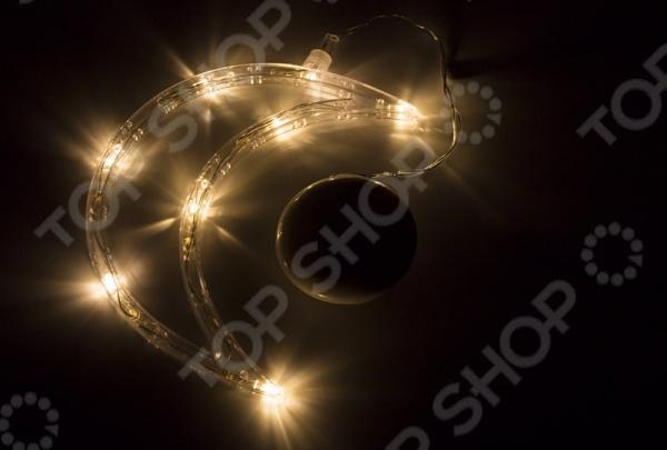 Фигура светодиодная Neon-Night на присоске с подвесом «Месяц» фигура акриловая светодиодная neon night мухомор 120 led с понижающим трансформатором 35 х 35 см