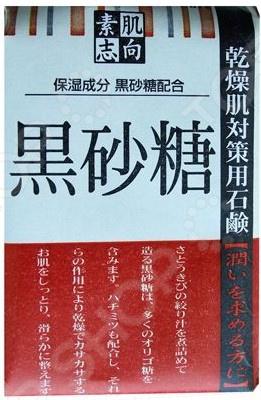 Мыло косметическое Clover «Сухадасико» с черным сахаром мыло косметическое мышьhouse мыло