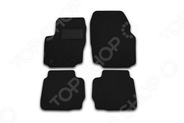 Фото Комплект ковриков в салон автомобиля Novline-Autofamily Alfa Romeo 147 2000-2010. Цвет: черный
