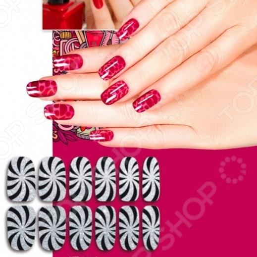 Пленка для дизайна ногтей Bradex «Гипноз»