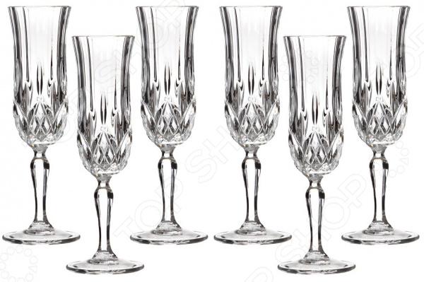 Набор бокалов для шампанского RCR «Опера» 305-069 набор стаканов rcr опера