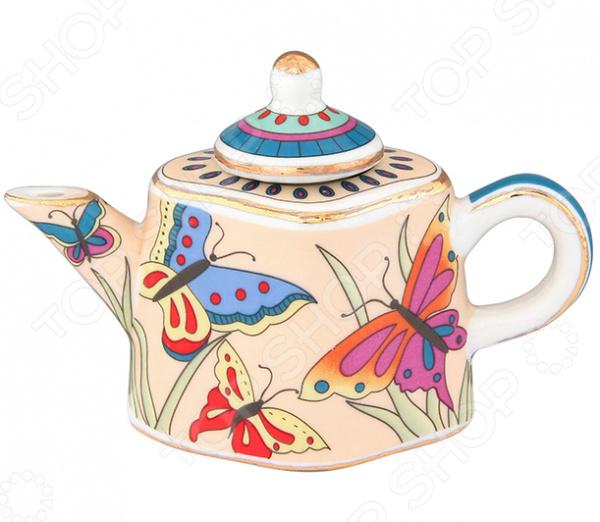 Чайник сувенирный Elan Gallery «Бабочки на лугу» александр бушков чертова мельница