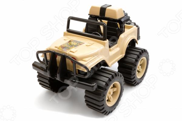 Машинка игрушечная Пластмастер «Джип Дельта» кольца кюз дельта 311439 d