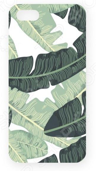 Чехол для IPhone 5 Mitya Veselkov «Листья пальмы»