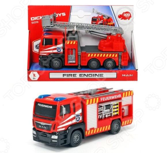 Машинка игрушечная Dickie «Пожарная машина». В ассортименте мальцева и мои первые буквы 4 книжки кубика