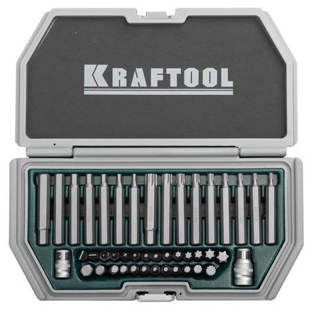Купить Набор бит усиленных для высоких нагрузок Kraftool Industry 26550-H44