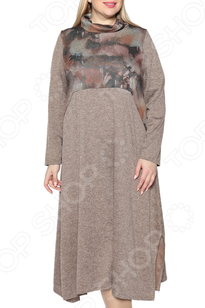 Платье Pretty Woman «Океан любви». Цвет: коричневый платье pretty woman неповторимая цвет розовый