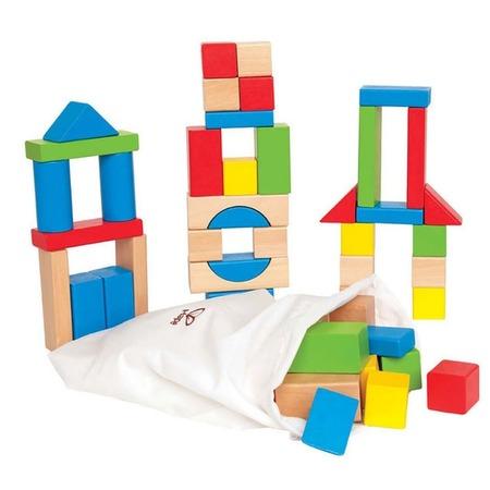 Купить Конструктор деревянный Hape Maple Blocks