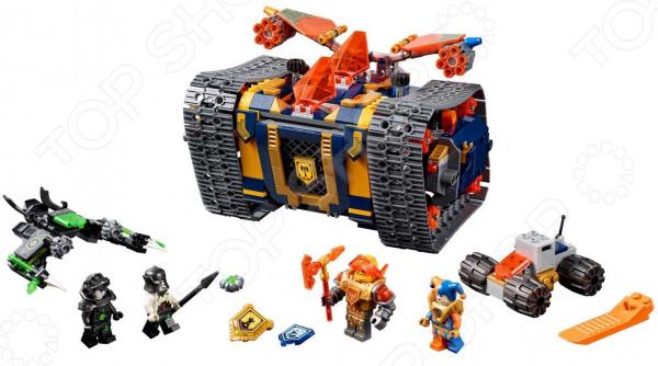 Конструктор игровой LEGO Nexo Knights «Мобильный арсенал Акселя»