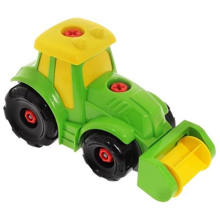 Купить Трактор игрушечный Keenway Build & Play