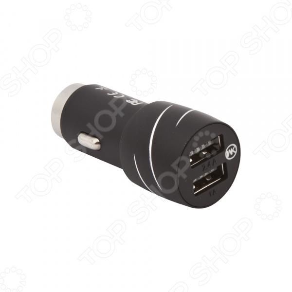 Устройство зарядное автомобильное WK Cat King WP-C10 2,4 А 2хUSB автомобильное зарядное устройство wk linken 2хusb 2 1а wp c08 black