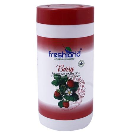 Купить Набор салфеток влажных универсальных Freshland PK-850166-30 Berry