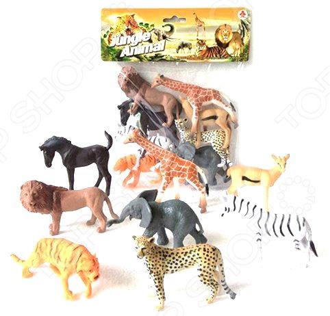 все цены на Набор фигурок Shantou Gepai 2A008-1 Jungle animal