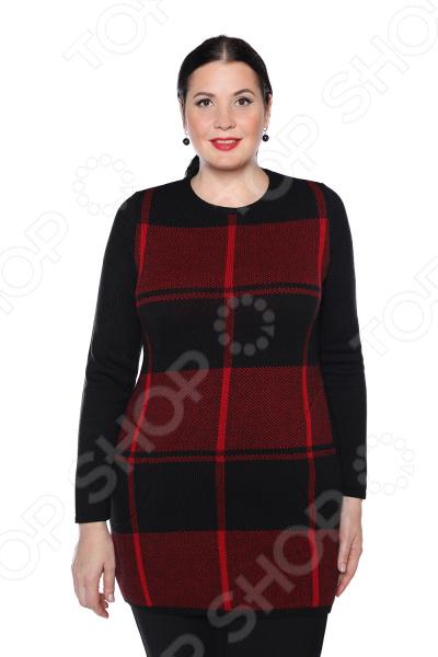 Туника Milana Style «Осенняя душа». Цвет: красный платье milana style milana style mi038ewxjv28