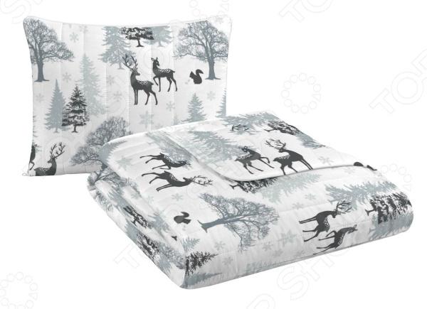 Фото - Подушка-одеяло трансформер «Зимняя прогулка» одеяло