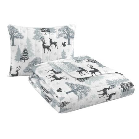 Купить Подушка-одеяло трансформер «Зимняя прогулка»