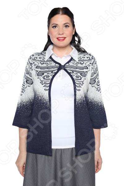 Жакет Milana Style «Теплые рассказы». Цвет: джинсовый платье milana style milana style mi038ewxjv28
