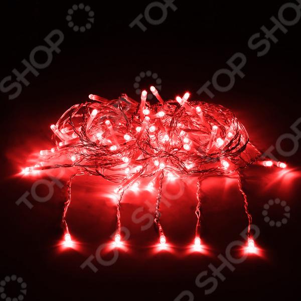 Электрогирлянда VEGAS «Занавес» 55021 гирлянда электрическая vegas занавес с контроллером 156 ламп длина 1 5 м свет красный 55080