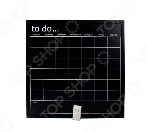 Доска грифельная с календарем To do...