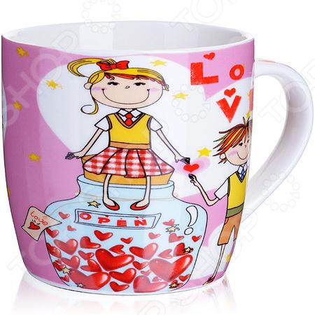 цена на Кружка Loraine LR-24468-2 I Love You