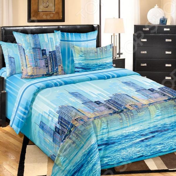 Комплект постельного белья Королевское Искушение «Отражение». Тип ткани: перкаль комплект постельного белья королевское искушение комплимент ткань перкаль