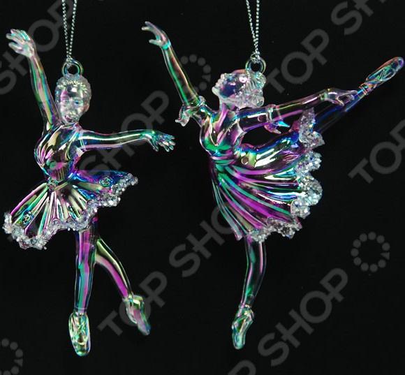Новогоднее украшение Crystal Deco «Балерина». В ассортименте