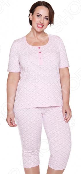 Костюм Алтекс «Семейные традиции». Цвет: розовый пижамы diadora домашний костюм