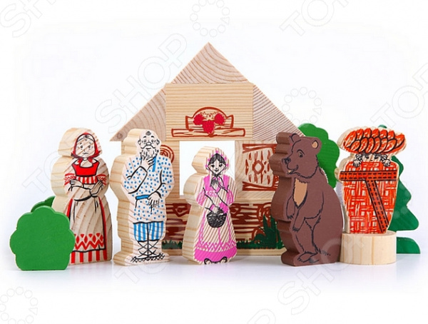 Конструктор для ребенка Томик «Маша и медведь» 22237