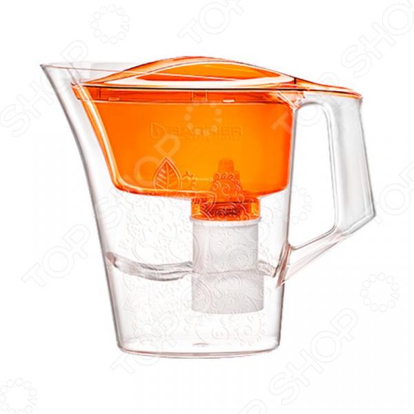 Фильтр-кувшин для воды Барьер Танго с узором ручка для холодильника либхер
