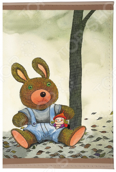 Визитница Mitya Veselkov «Мишка и малышка» мишка тед из фильма третий лишний