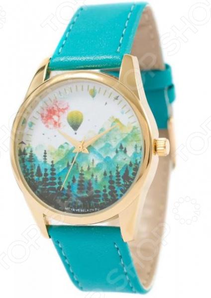 Часы наручные Mitya Veselkov «Воздушные шары  горах»