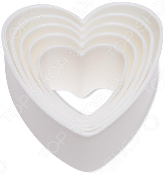 Формочки для печенья DOSH HOME в виде сердца Pavo кисточка кулинарная dosh l home pavo цвет голубой