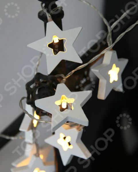 Гирлянда 728-41 Wooden Stars