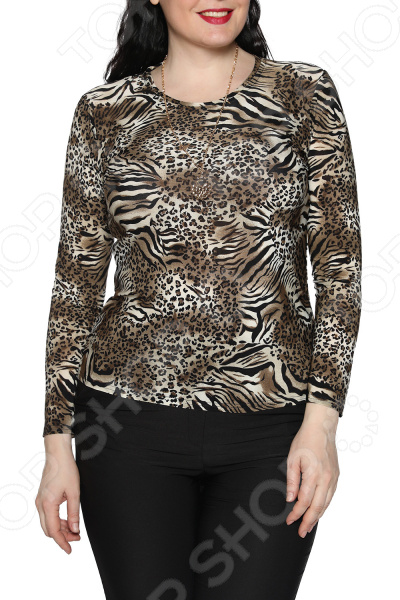 Блуза Blagof «Женщина-загадка». Цвет: серый