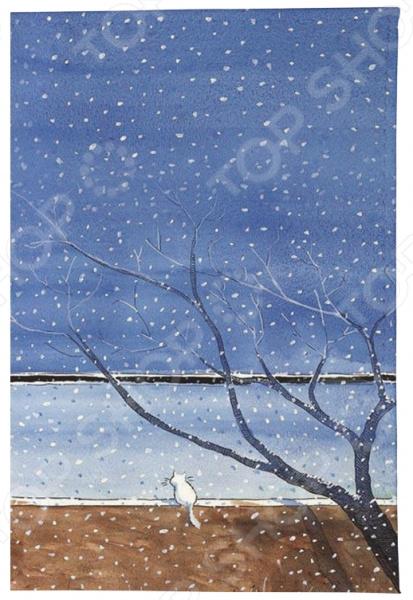 Обложка для автодокументов Mitya Veselkov «Котик под деревом»