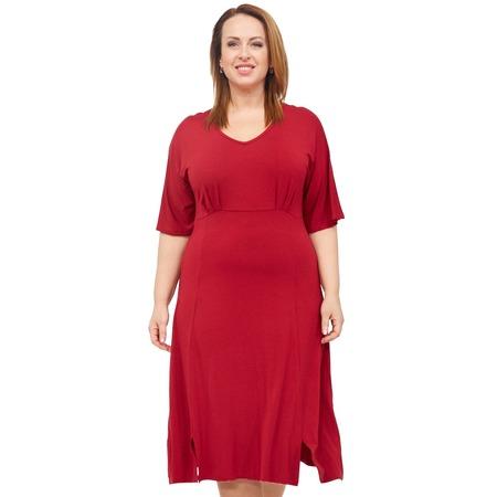 Купить Платье Laura Amatti «Нежная радость». Цвет: бордовый