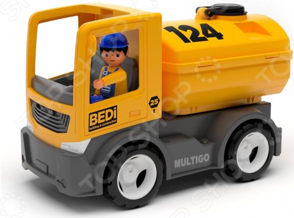 Автоцистерна игровая EFKO BEDi. Building & Construction Tank Truck