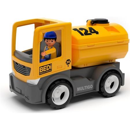 Купить Автоцистерна игровая EFKO BEDi. Building & Construction Tank Truck