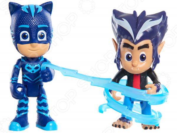 Игровой набор фигурок PJ Masks «Кэтбой и волчонок Хоулер» игрушки для ванны pj masks игровой набор кэтбой и ромео
