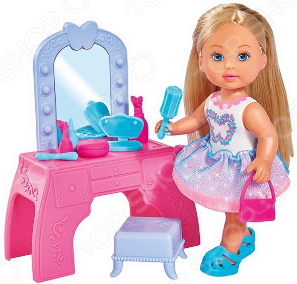 Набор игровой с куклой Simba «Еви с туалетным столиком» simba набор с куклой simba еви с туалетным столиком