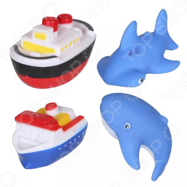 Набор игрушек-брызгалок для ванны Yako «Акварики» 1724239